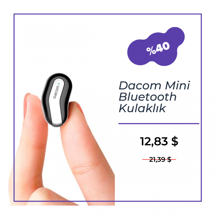 Dacom Mini Bluetooth Kulaklık